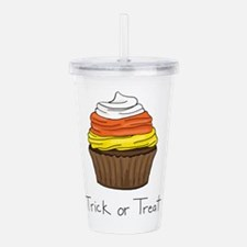 Halloween Cupcake - Tr Acrylic Double-wall Tumbler