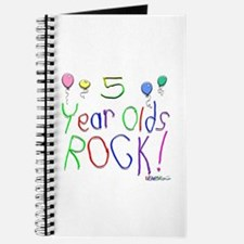5 Year Olds Rock ! Journal