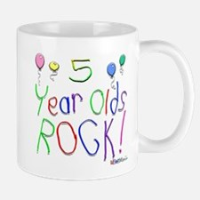 5 Year Olds Rock ! Mug