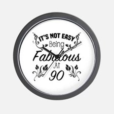 Cute Funny old age sayings Wall Clock