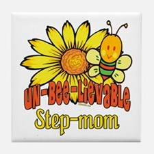 Unbelievable Step-mom Tile Coaster