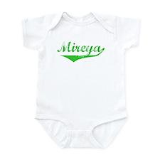Mireya Vintage (Green) Infant Bodysuit