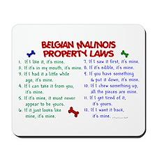 Belgian Malinois Property Laws 2 Mousepad