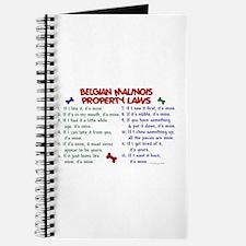 Belgian Malinois Property Laws 2 Journal
