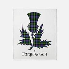 Thistle - Farquharson Throw Blanket
