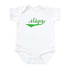 Miya Vintage (Green) Infant Bodysuit