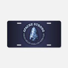 Apache Strong Aluminum License Plate