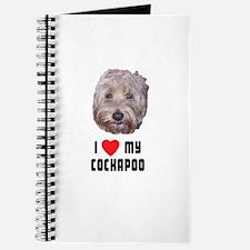 I Love My Cockapoo Journal
