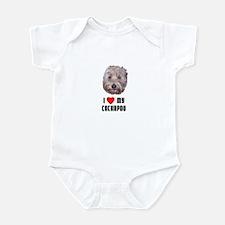 I Love My Cockapoo Infant Bodysuit