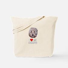 I Love My Cockapoo Tote Bag