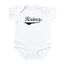 Raina Vintage (Black) Infant Bodysuit