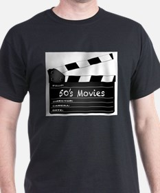 50's Movies Clapperboard T-Shirt