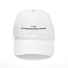 I Love My Environmental Studi Baseball Cap