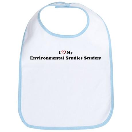 I Love My Environmental Studi Bib