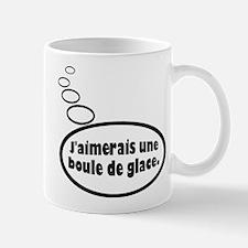 French Wish for Ice Cream Mugs