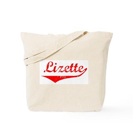 Lizette Vintage (Red) Tote Bag