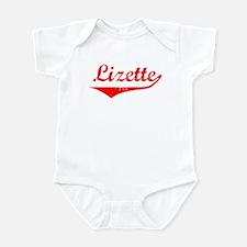 Lizette Vintage (Red) Infant Bodysuit