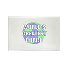 World's Greatest Coach Rectangle Magnet (10 pack)