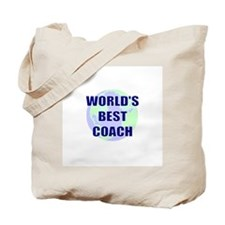 World's Best Coach Tote Bag