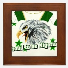 Proud to be Nigerian Framed Tile