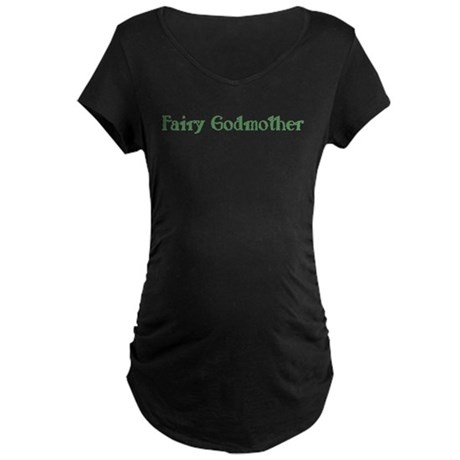 Fairy Godmother Maternity Dark T-Shirt