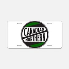 Canadian Northern Railway l Aluminum License Plate