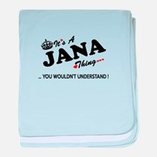 Cute Jana baby blanket