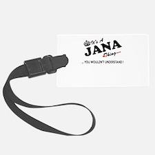 Cool Jana Luggage Tag