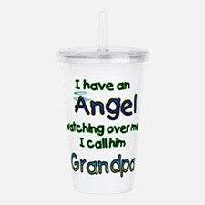 I HAVE AN ANGEL GRANDPA.png Acrylic Double-wall Tu