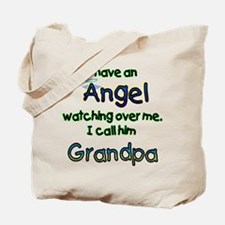 I HAVE AN ANGEL GRANDPA.png Tote Bag