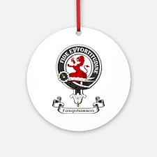 Badge - Farquharson Ornament (Round)