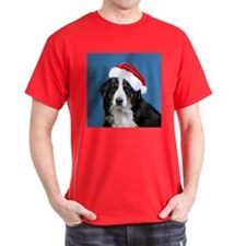 Newfoundland Dog Santa T-Shirt