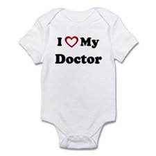 I Love My Doctor Onesie