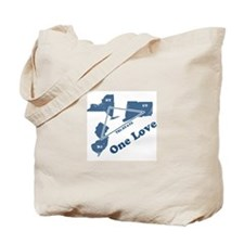 NY, NJ & CT - One Love Tote Bag