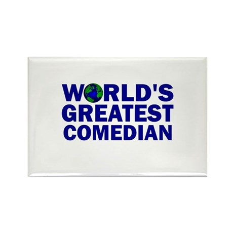 World's Greatest Comedian Rectangle Magnet (100 pa