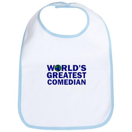 World's Greatest Comedian Bib