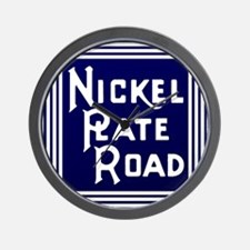 Nickel Plate Railroad logo Wall Clock