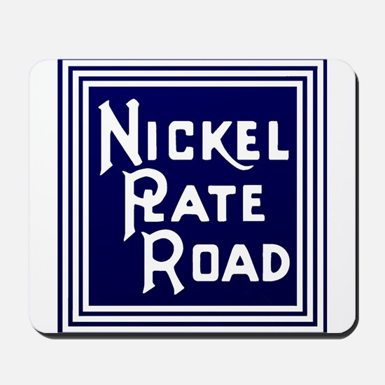 Nickel Plate Railroad logo Mousepad