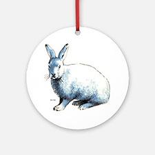 Artic Hare Keepsake (Round)