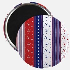 Patriotic Strs & Stripes Abstract American Magnets