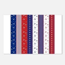 Patriotic Strs & Stripes Postcards (Package of 8)
