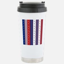Patriotic Strs & Stripe Travel Mug