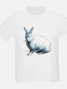 Artic Hare (Front) Kids T-Shirt