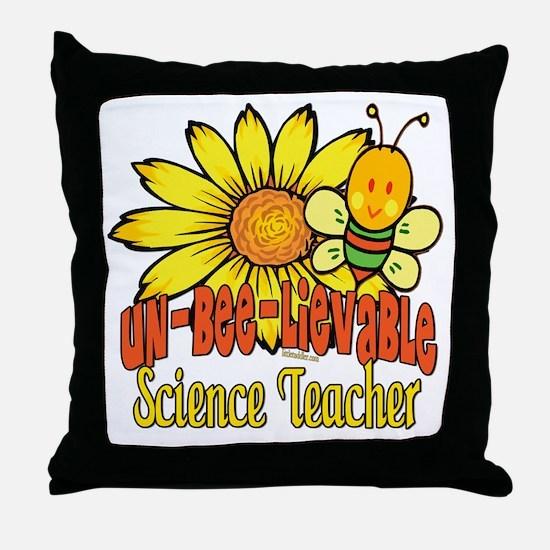 Unbelievable Teacher Throw Pillow