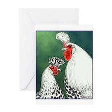 Spitzhauben Pair Greeting Card