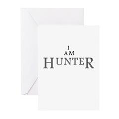 I AM HUNTER Greeting Cards (Pk of 20)