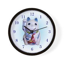 Funny Manekineko Wall Clock
