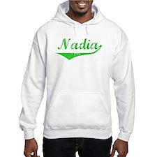 Nadia Vintage (Green) Hoodie Sweatshirt