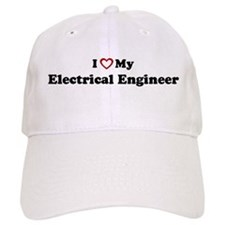 I Love My Electrical Engineer Baseball Cap