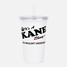 Unique Kane Acrylic Double-wall Tumbler